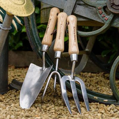 Handredskap med kvalitet för trädgårdsarbetet