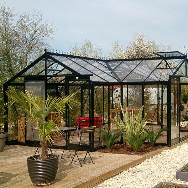 Orangeri och uterum för odling och samvaro