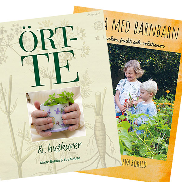 Trädgårdsböcker för kunskap och inspiration