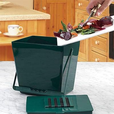 Komposthinkar för insamling av köksavfall
