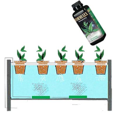 Näring till hydrokultur och vattenodling