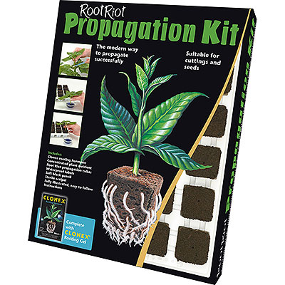 Paket med odlingsprodukter och planteringspaket