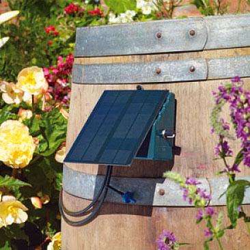 Solcellsdrivna bevattningssystem för trädgården