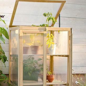 Växthus för odling på balkong och terrass