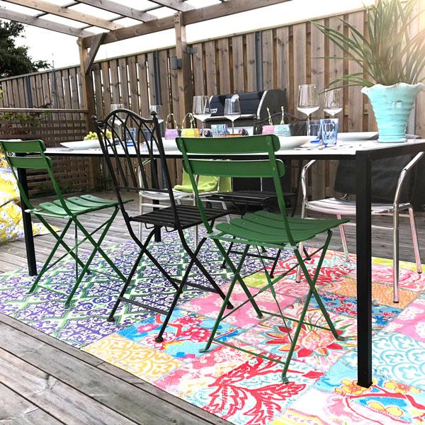 Inredning till trädgård, uterum och balkong