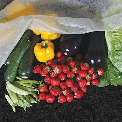 Växtskydd - fiberduk, nät och växtskyddsfolie