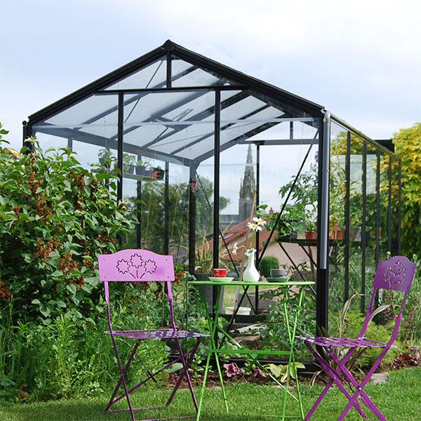 Växthus för odling och trivsel