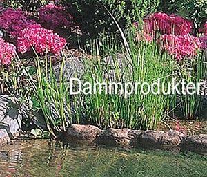 Dammprodukter för vatten i trädgården