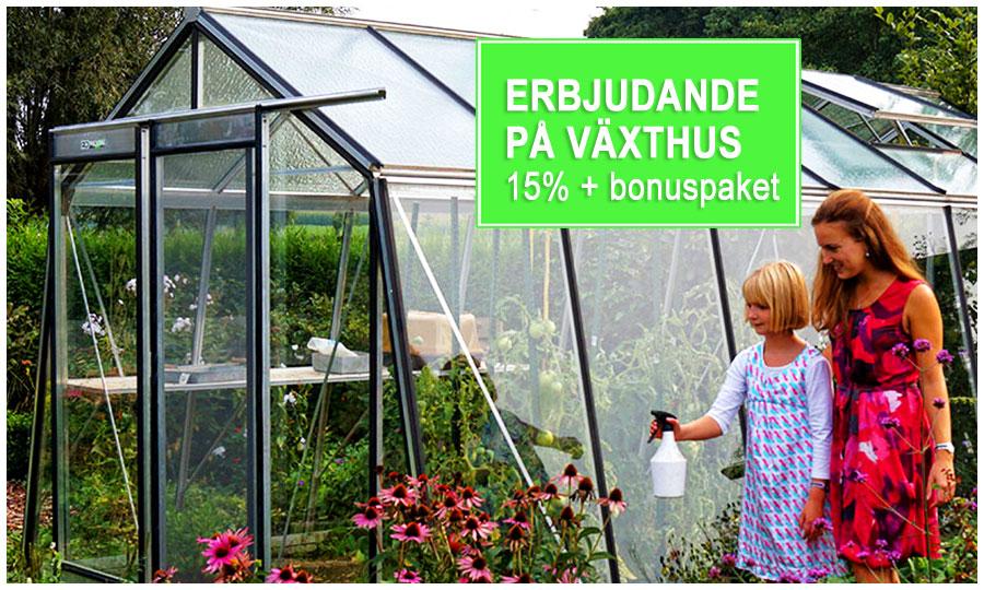Växthus och orangerier