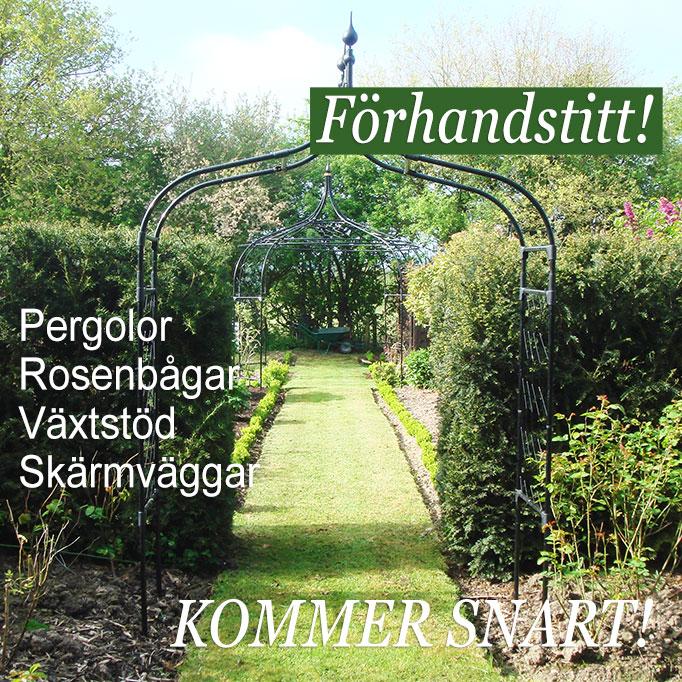 Wexthuset Pergolor, rosenbågar, portaler och växtstöd