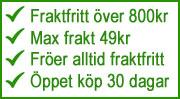 Fraktmax 59kr, fröer fraktfritt