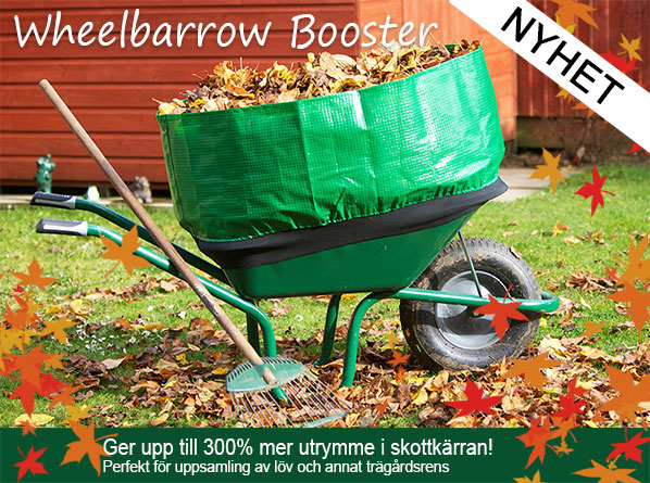 Nyhet i webshoppen - wheelbarrow booster