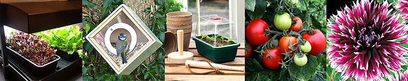 Produktuval från Wexthusets trädgårdsprodukter