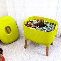 Maskkompost UrbaLive, grön, inomhus