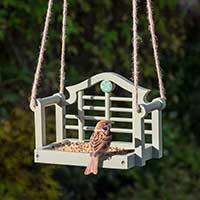 Fågelbord, Luytens Swing Seat för småfåglar