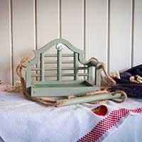 Fågelbord, Luytens Swing Seat, hantverk.