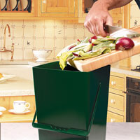 Compost Caddy - en luktfri komposthink - 9 liter,