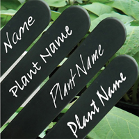 Etikettpenna Garden Marker, vit, Märkpenna för plantetiketter