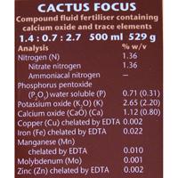 Kaktusnäring - Cactus Focus, 300ml,