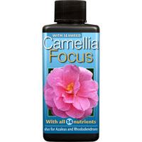 Kamelianäring - Camellia Focus, 100 ml -Näring för kamelia, azalea och andra surjordsväxter