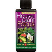 Krukväxtnäring-Houseplant Focus, 100 ml-Krukväxtnäring, gödning till krukväxter