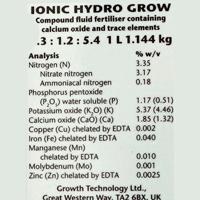 IONIC Hydro Grow, 1 liter,