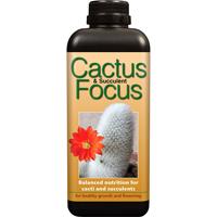 Kaktusnäring - Cactus Focus, 1 liter-Cactus Focus - specialnäring för kaktusar och succulenter