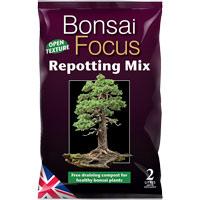 Bonsai Focus - bonsaijord, 2 liter-Bonsai Focus Repotting Mix - specialjord för bonsaier