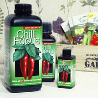 Chilli Focus, Chili- och paprikanäring, 300ml,