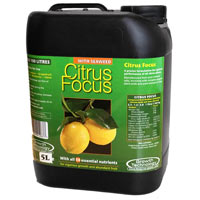 Citrus Focus, 5 liter-Specialnäring för citrusväxter, Citrus Focus 5 Liter