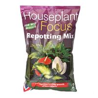 Houseplant Focus - krukväxtjord, 2 liter-Housplant Focus Repotting Mix - specialjord för krukväxter