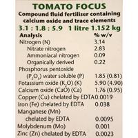 Tomatnäring - Tomato Focus, 1 liter, Tomatnäring omato Focus  med 14 viktiga näringsämnen