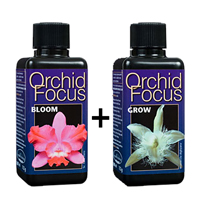 Special Orchid Focus Bloom+Orchid Focus Grow, 100 ml-Näring för orkideer utvecklad av proffs
