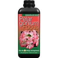 Pelargonnäring - Pelargonium Focus, 1 liter-Gödning till pelargoner Pelargonium Focus