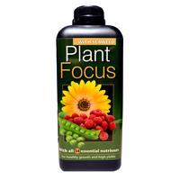 Plant Focus Soft Water, 1 liter- Komplett näring för krukodling och odlingssäckar
