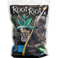 Root Riot, 100-pack-Rotnings-odlingskuber för snabb och säker rotning av fröer och sticklingar.
