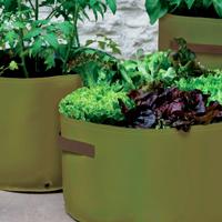 Odlingssäck för terrassen, 3-pack-odlingssäck för odling på balkong och terrass