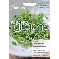 Micro greens - Basilika, Frö till liten basilika som micro-sallad
