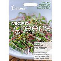 Micro greens - Mangold-Frö till rädisa odlad som micro-sallad.