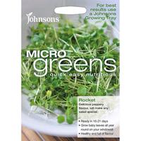 Micro greens - Ruccola, Frö till ruccola odlad som micro-sallad.