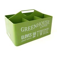 Låda för odlingstillbehör, Lime Green-Burk för fågelmat med skopa