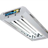 LightWave T5 2x24 W-T5 Light Wave växtbelysning för övervintring