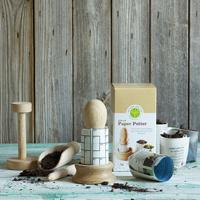 Pat-a-pot set för krukmakare, Presentpaket odlingssprodukter