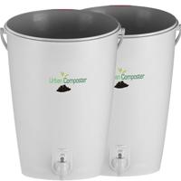 Komposthink för bokashi 2-pack-Hink för bokashikompostering - 2-pack