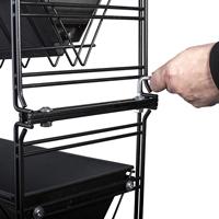 Modulkopplingssats, höjdpåbyggnad-Kopplingssats till modul, vertikal påbyggnad.