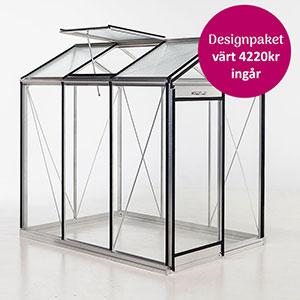 Piccolo 3, alu-Piccoloväxthus kampanj med designpaket