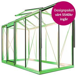 Piccolo 4, lackat-Växthuskampanj Piccolo designpaket