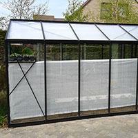 Skuggardin, 120 cm-Skuggardin för avskärmning av värme i växthuset