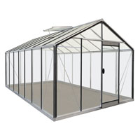 Odlingsväxthus Prestige Expert Plus 15,9 kvm, 7 fönster