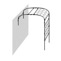Växtportal för vägg, 150,